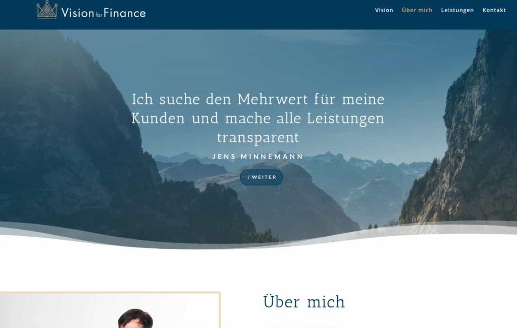 Vision for Finance
